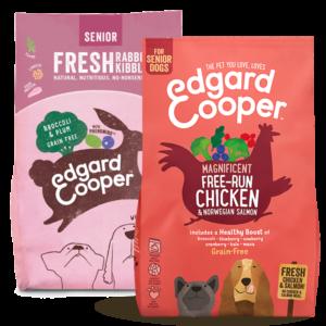 PIMP MY PET Edgard & Cooper Crocchette per cani Anziani vari gusti