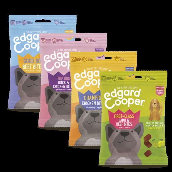 PIMP MY PET Edgard & Cooper Bocconcini di carne e frutta per cani