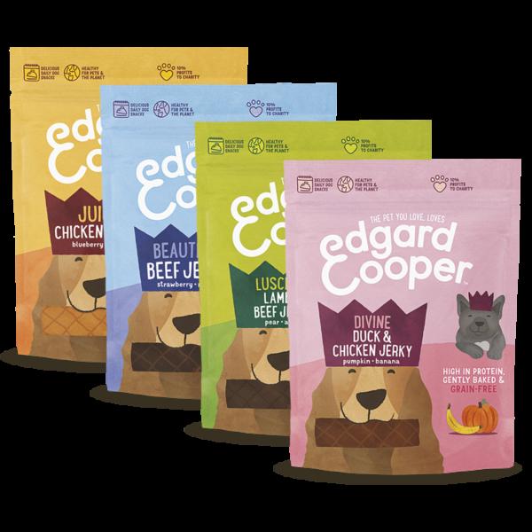 PIMP MY PET Edgard & Cooper Strisce di carne e frutta per cani